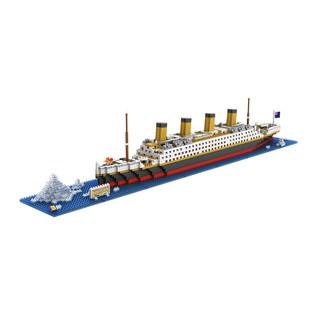 Bộ đồ chơi lắp ráp Tàu Titanic 1860 mảnh LOZ 9389