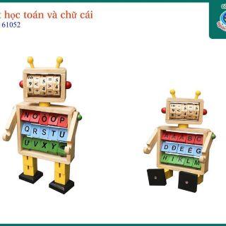 Robot toán học và chữ cái