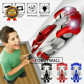 ❤ Wall Climbing Remote Control Car Radio Controlled Stunt Racing Kids Driving Toys