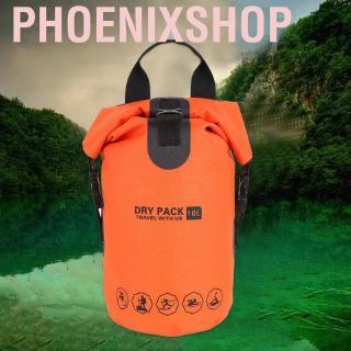 Phoenixshop 10L Waterproof Dry Bag Outdoor Camping Sack Kayak Duffle Backpack Pouch Tool❤BT