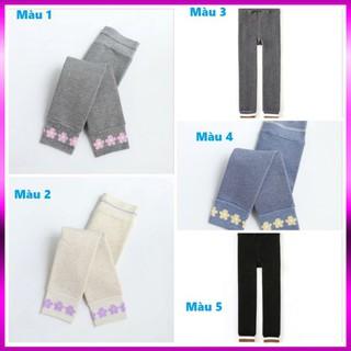 Quần tất len 💝S̳I̳Ê̳U̳ ̳D̳Ầ̳Y̳💝 Quần legging lót lông cho bé siêu sành điệu hàng chuẩn đẹp cho bé đén 10 tuổi
