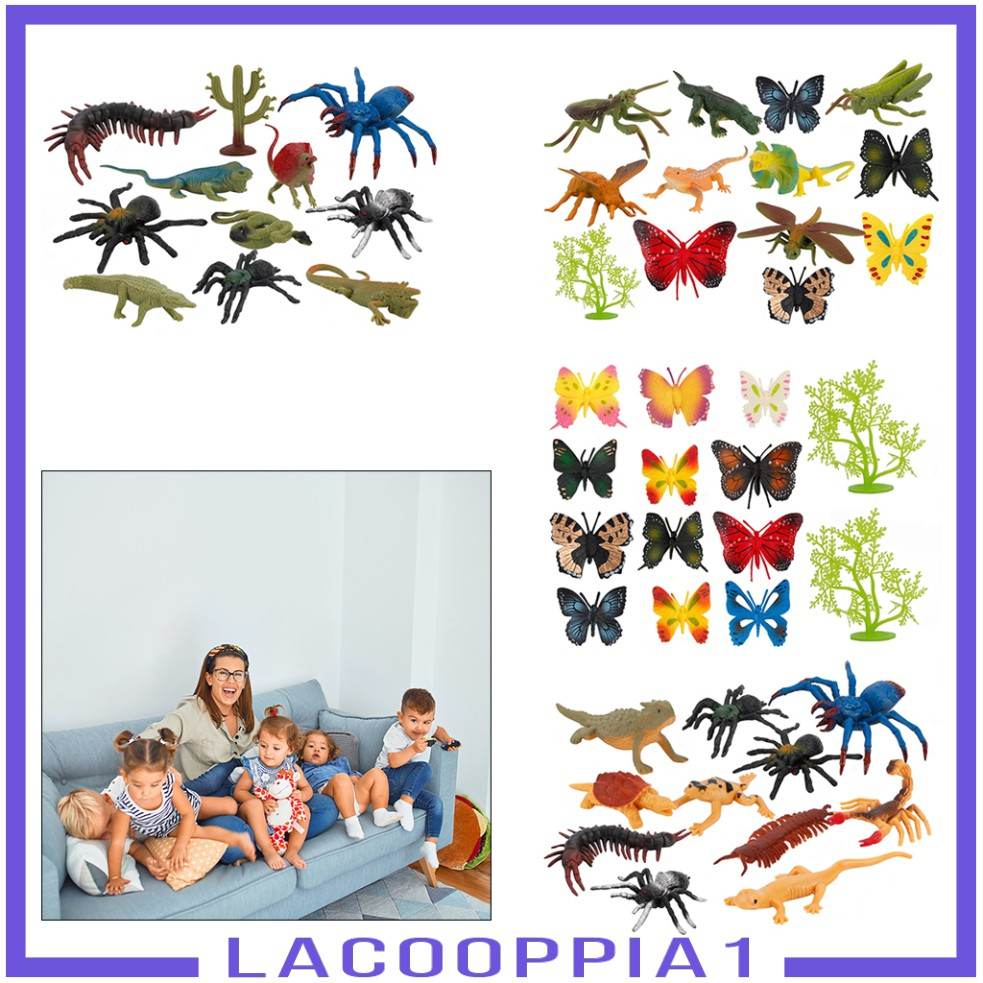Multicolored Lifelike Fun Insect Model for Kids 5-7 Years Toy Party Toddlers
