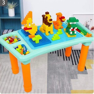 [RẺ VÔ ĐỊCH] Bộ bàn xếp hình lego và 303 miếng ghép LEGO. Bàn lego cho bé