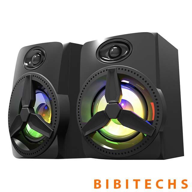 Loa vi tính bluetooth Bosston T1750 ❤️FREESHIP❤️ Hàng chính hãng, Led RGB, 2.1 BH 12 tháng - Bibitechs