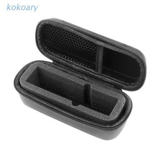 KOK Anti-slip PU Leather Storage Bag Portable Hard Shell Carrying Case for DJI-Osmo Pocket/Pocket 2/FIMI PALM EVA Shell