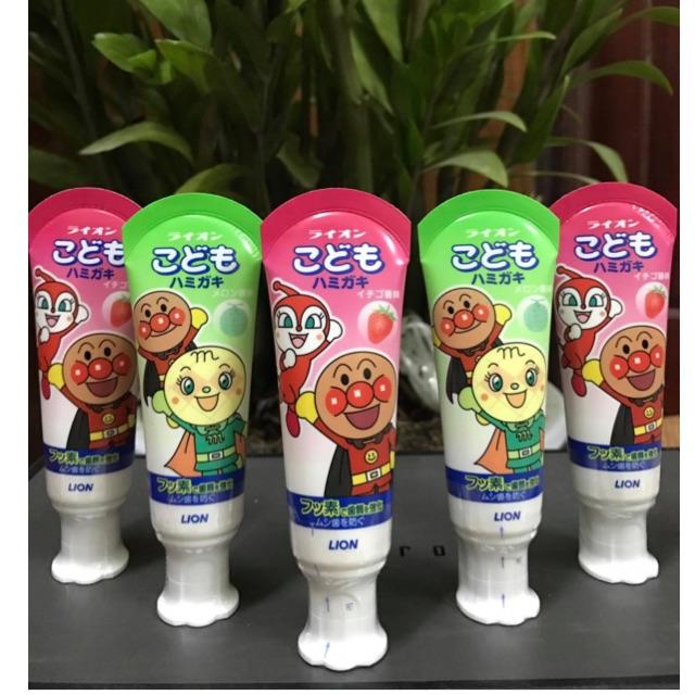 Kem đánh răng trẻ em Lion Nhật Bản - 2667856 , 1342844404 , 322_1342844404 , 70000 , Kem-danh-rang-tre-em-Lion-Nhat-Ban-322_1342844404 , shopee.vn , Kem đánh răng trẻ em Lion Nhật Bản