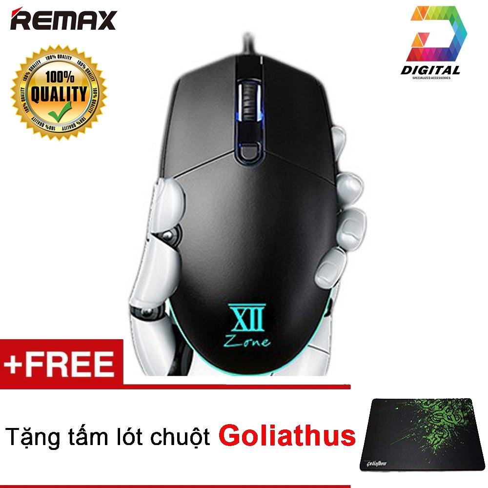 Combo Chuột Remax V3500 Chính Hãng Tặng Kèm Lót Chuột