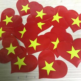 Sticker dán má cổ động Việt Nam, bán set 10 cái