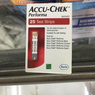 Test thử đường huyết accuchek performa