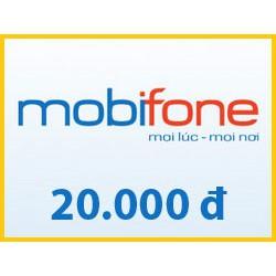 Thẻ Cào Điện Thoại [ Mobifone ]