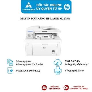 Máy in đa chức năng HP LaserJet Pro MFP M227fdn_1Y WTY_G3Q79A
