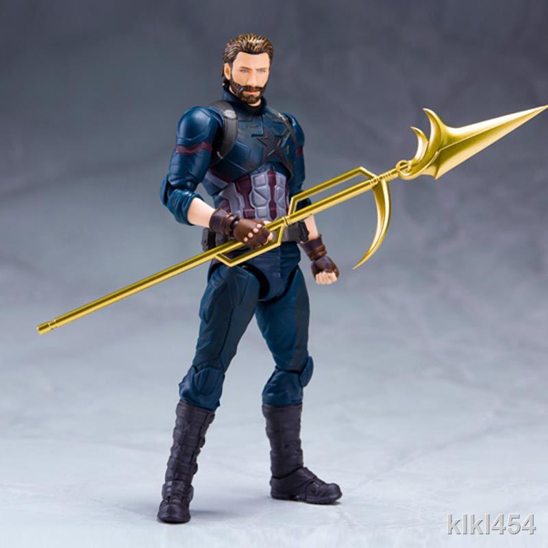 Mô Hình Đồ Chơi Nhân Vật Captain America Resurrection 3