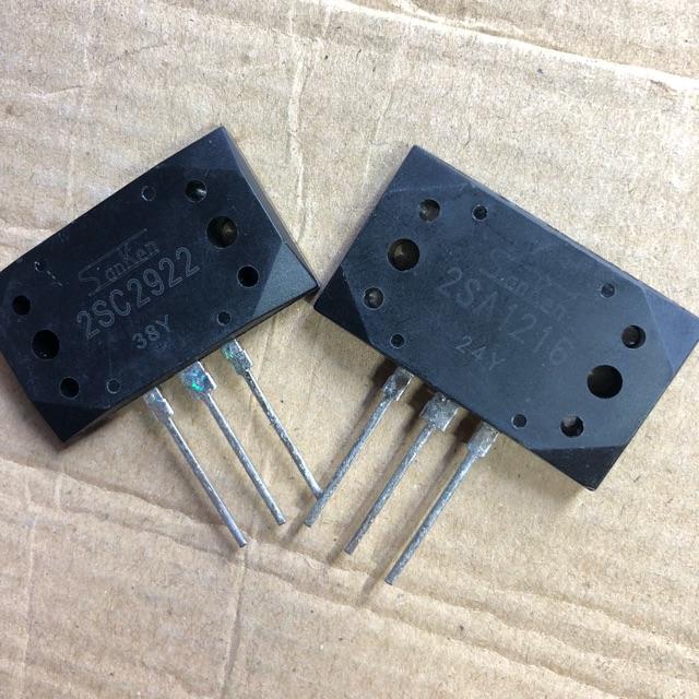 Cặp sò công suất SanKen A1216 và C2922