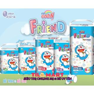 [MẪU MỚI] Tã quần Bỉm quần Goon Friend M54 L46 XL40 XXL34 XXXL22 thumbnail