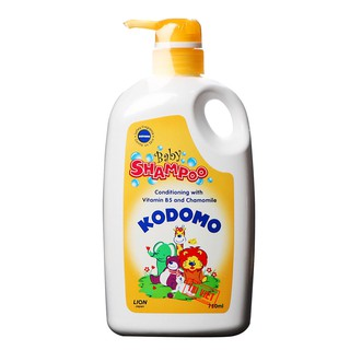 Dầu gội trẻ em Kodomo Vitamin B5 Gentle - 750ml