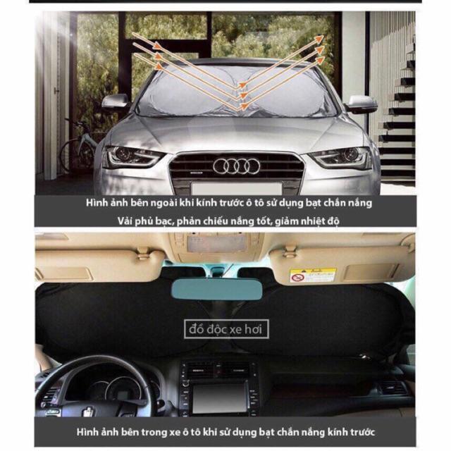 Bộ 6 tấm chắn cách nhiệt chống UV cho ô tô