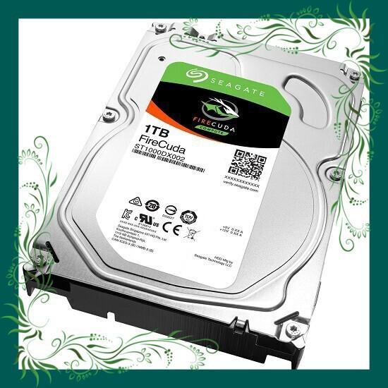 (Sale Mọi Nhà) Ổ Cứng HDD Seagate FireCuda 1TB/8GB/3.5 – ST1000DX002 bảo hành lên đến 5 năm Giá chỉ 2.554.500₫