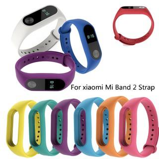 Mi band 2 Replacement silicone Wriststrap for Xiaomi Mi Band 4 3 strap Bracelet  Wrist Band