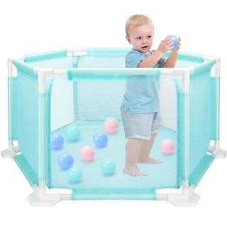 Portable Baby Safety Fence Playpen Kids Folding Security Ball Pool Barriers