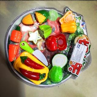 Bộ đồ chơi Vỉ cắt hoa quả