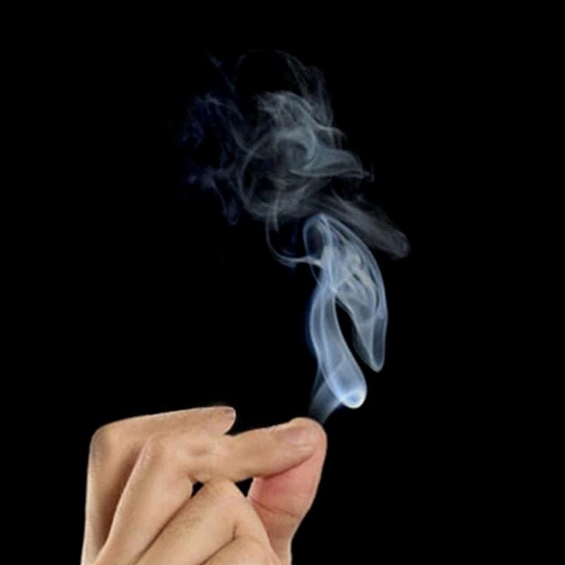 SUN55❤❤10pcs Close-Up magic change gimmick finger smoke fantasy trick prop