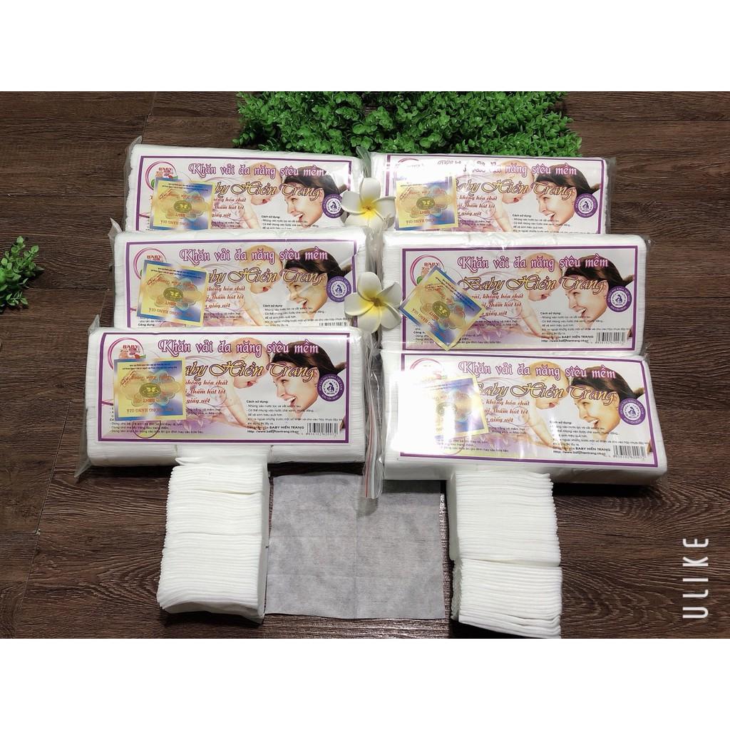 Khăn vải khô đa năng Baby Hiền Trang Gói 220g