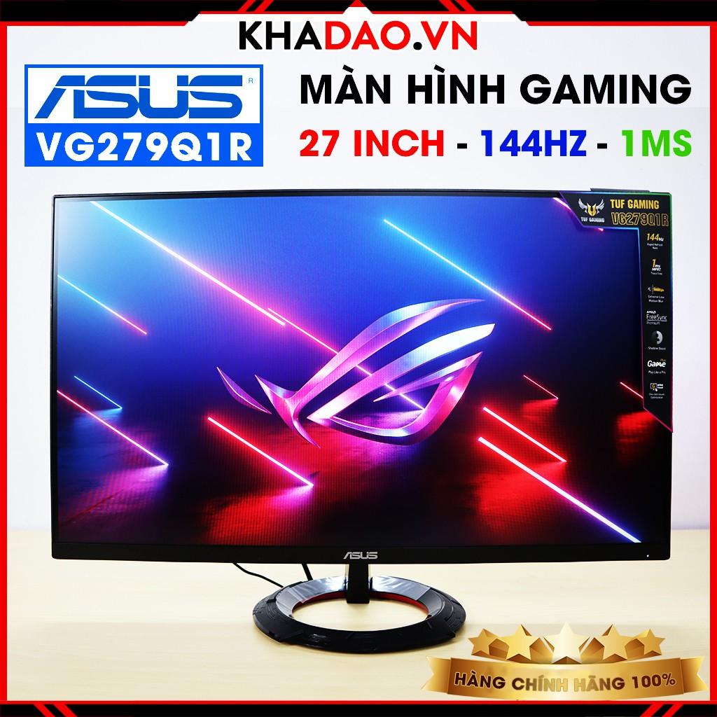 Màn hình máy tính Gaming ASUS TUF 27 inch Full HD VG279Q1R - 144Hz, 1ms, IPS, AMD FreeSync