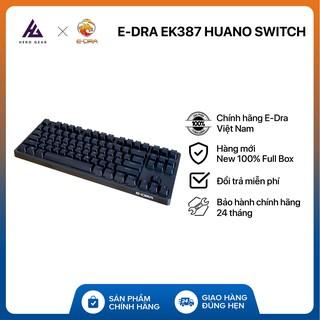 Bàn phím cơ EDRA EK387 Bản 2021 Huano Switch – Kết nối USB Type-C – Hàng chính hãng