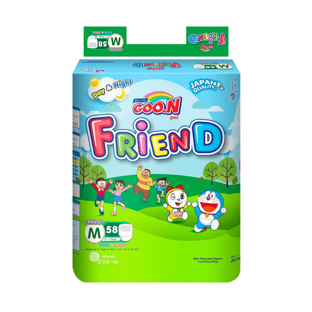 TÃ QUẦN GOON FRIEND S62/M58/L48/XL42/XXL34