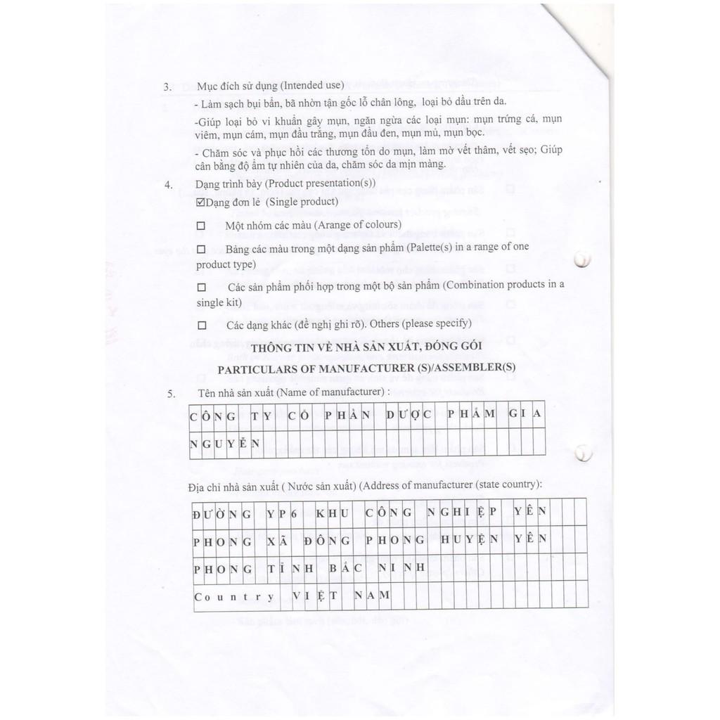[Hàng Chính Hãng] Bộ 3 Sản Phẩm Sạch Mụn - Hết Thâm - Mờ Sẹo Esunvy