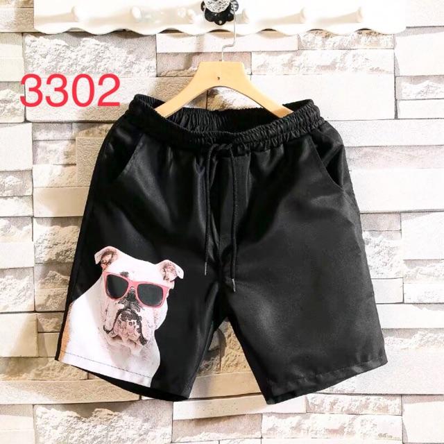 [Hàng Order] Quần đùi Short hình Baby vải Polyester(kèm ảnh thật)
