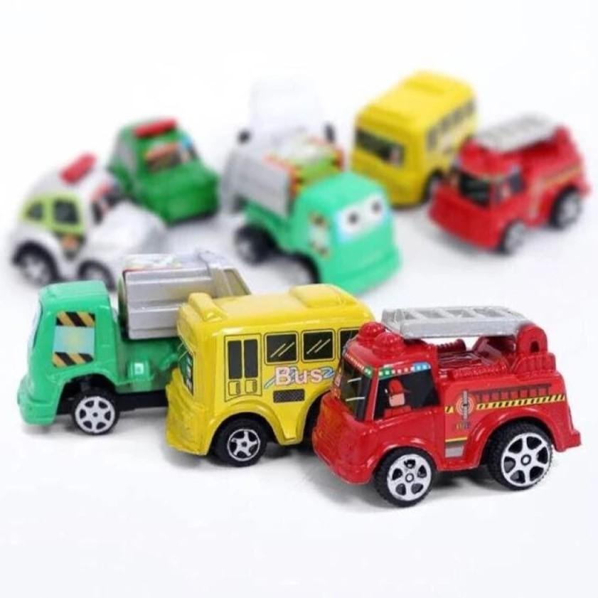 Bộ 6 ô tô chạy cót