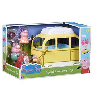 Heo peppa pig's cắm trại