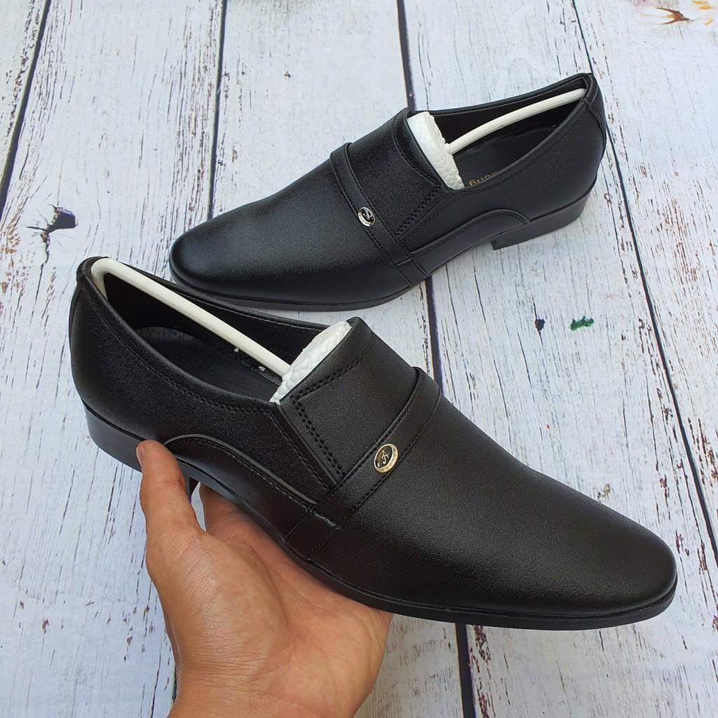 Giày Tây Da Cát Nhám Mẫu Mới 2020