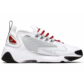 Giày NIKE ZOOM 2K WHITE PURE PLATINUM-GYM RED – A00354-107