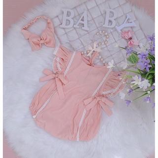 Body chất đũi lụa màu hồng tôm TẶNG tuban nơ cực xinh 4-13kg