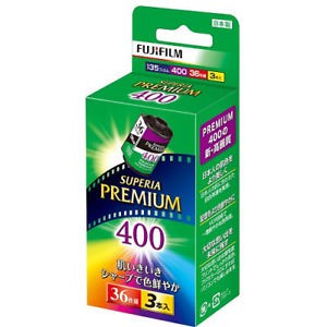 Film máy ảnh Fuji Superia Premium 400 - 36 kiểu (135)