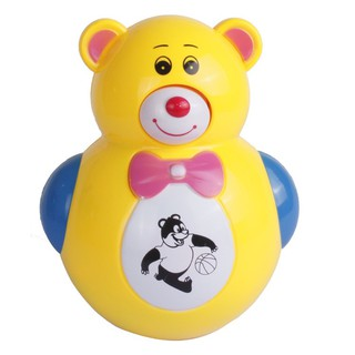 Đồ chơi lật đật có đèn nhạc hình gấu cho bé thumbnail