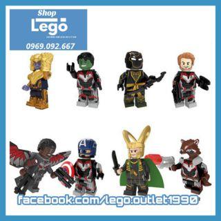 Xếp hình Avengers Endgame Lego Minifigures POGO PG8229 thumbnail