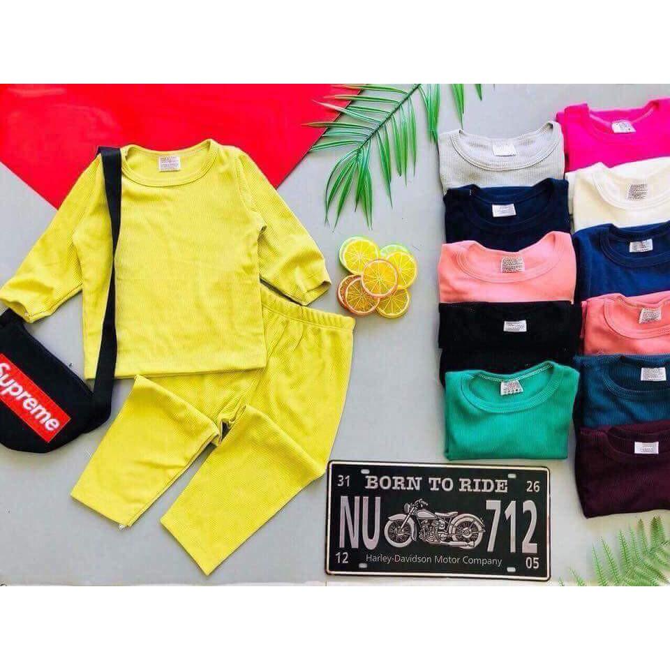 Bộ quần áo cotton bozip trơn dài tay cho bé trai và bé gái 7-16kg - 2616683 , 1292730330 , 322_1292730330 , 60000 , Bo-quan-ao-cotton-bozip-tron-dai-tay-cho-be-trai-va-be-gai-7-16kg-322_1292730330 , shopee.vn , Bộ quần áo cotton bozip trơn dài tay cho bé trai và bé gái 7-16kg