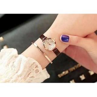 Đồng hồ nữ hàn quốc yuhao mặt kính khối 3d YHss441 thumbnail