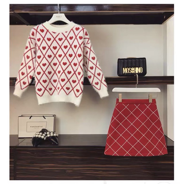 [GOM ORDER] Set váy len đỏ trái tim cao cấp GNCM - 13753702 , 1968871668 , 322_1968871668 , 702000 , GOM-ORDER-Set-vay-len-do-trai-tim-cao-cap-GNCM-322_1968871668 , shopee.vn , [GOM ORDER] Set váy len đỏ trái tim cao cấp GNCM