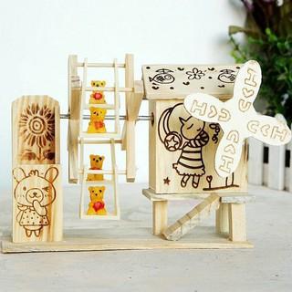 hộp nhạc bằng gỗ – 4624