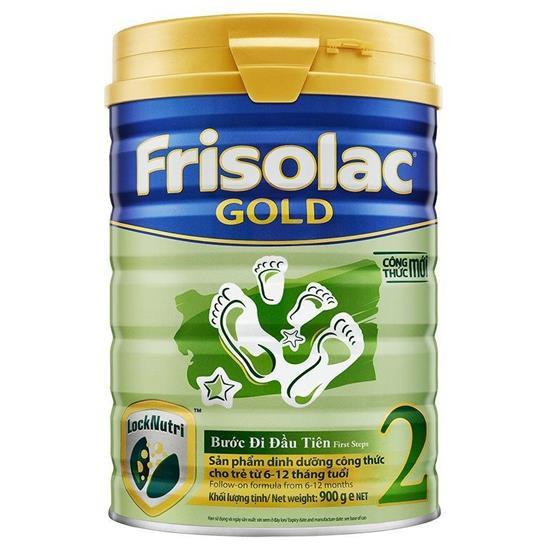 ( NHẬP MÃ TKB0718W2B giảm tối đa 20k )Sữa bột Friso Gold 2 900g (Công thức mới LOCK-NUTRI)
