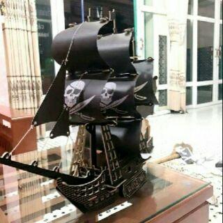 Thuyền gỗ 3D