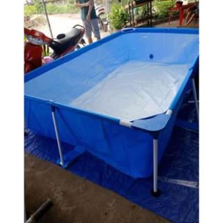 Bể Bơi Lắp Ghép 56403 Kích Thước 2.59mx 1.70mx 61cm