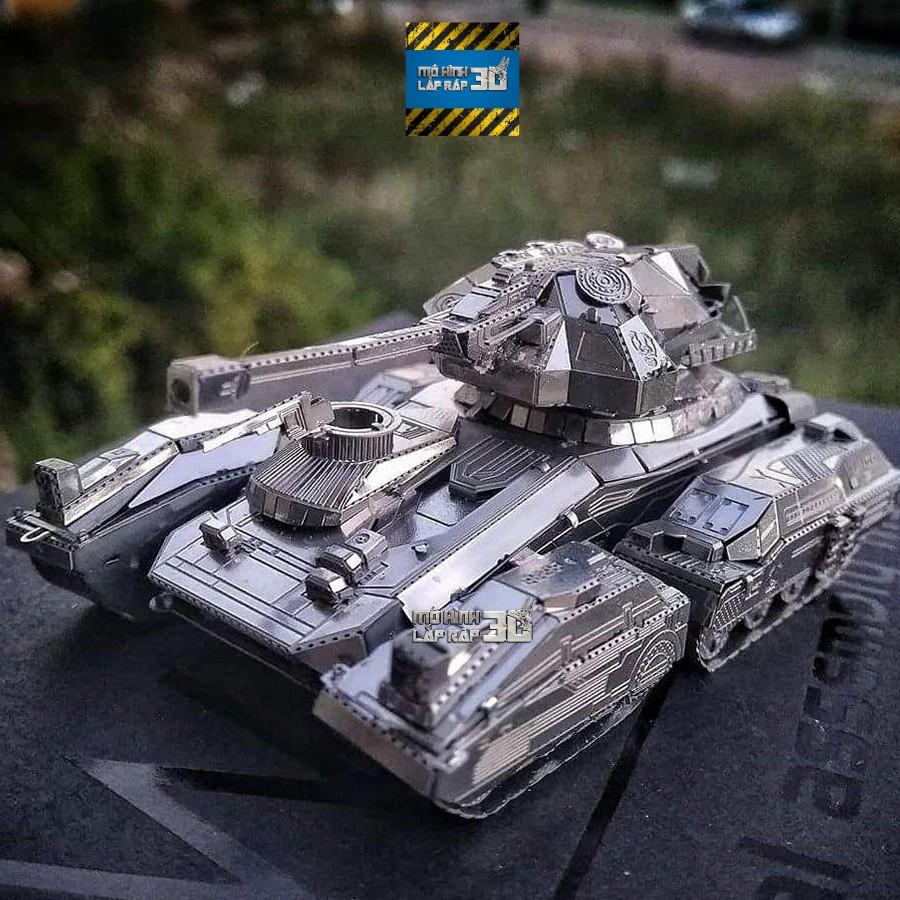Mô hình 3D kim loại lắp ráp xe tăng HALO – UNSC SCORPION [Chưa lắp]
