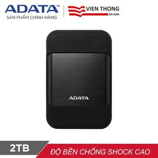 Ổ cứng di động ADATA HD700 2TB / USB 3.1 Gen 1 chống sốc chống nước -