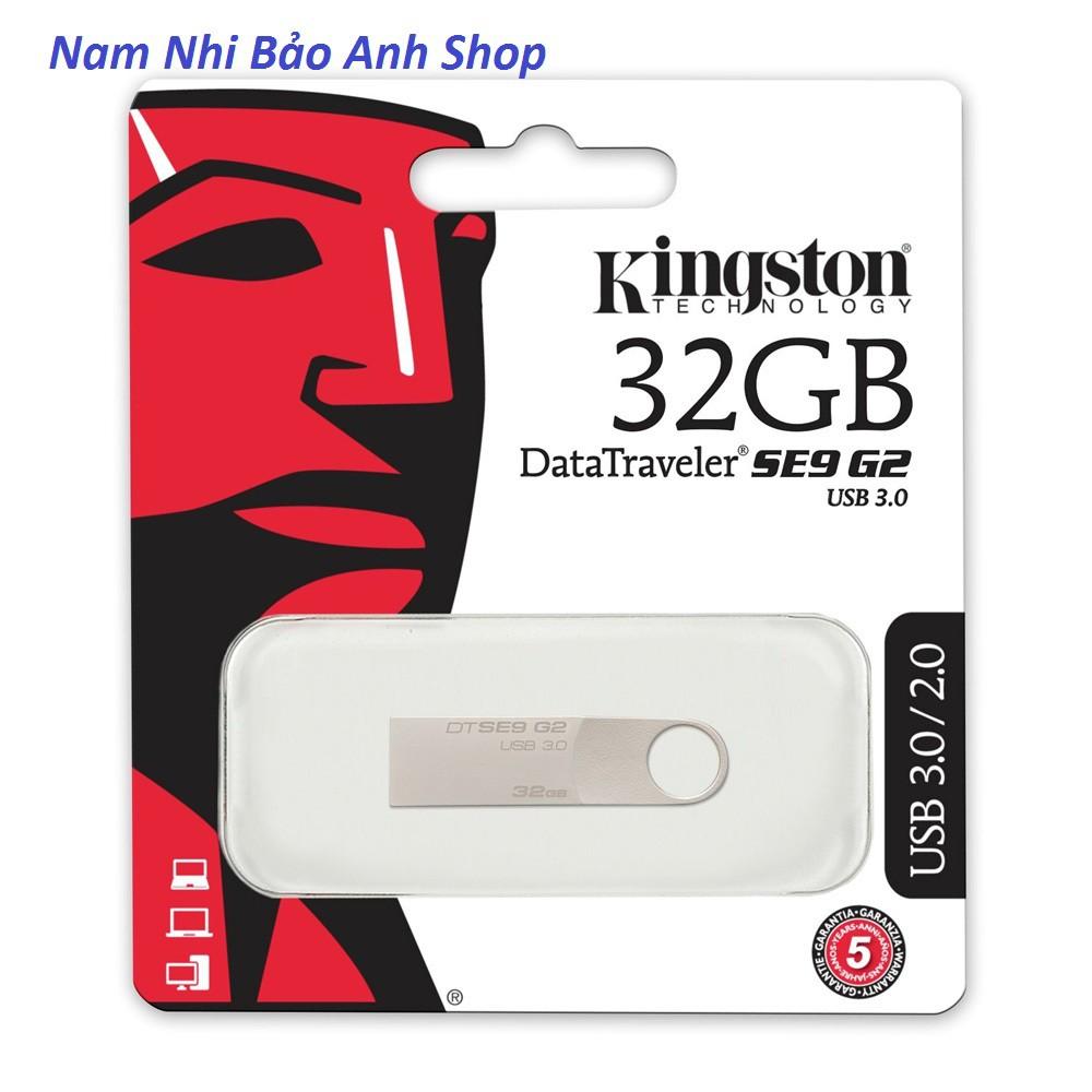 [Rẻ Vô Địch] USB KINGSTON 32GB. BẢO HÀNH 12 THÁNG LỖI 1 ĐỔI 1 Giá chỉ 115.000₫