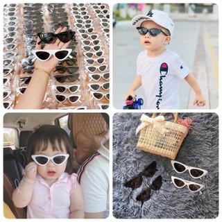 Kính cho bé trai bé gái - Kính râm Mắt Mèo mùa hè cho bé 1-6 tuổi chống tia UV gọng dẻo phong cách Hàn Quốc. thumbnail